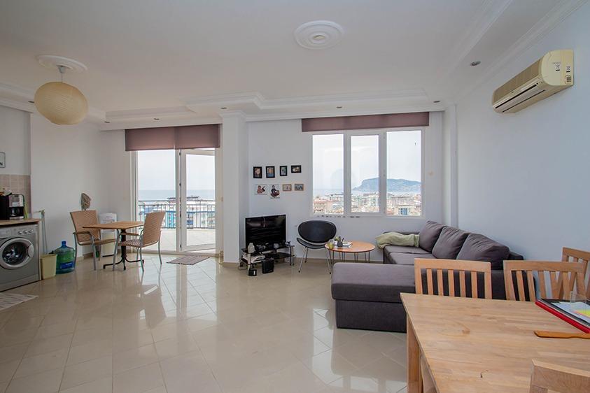 Просторная квартира 2+1 с видом на море в Тосмуре - Фото 11