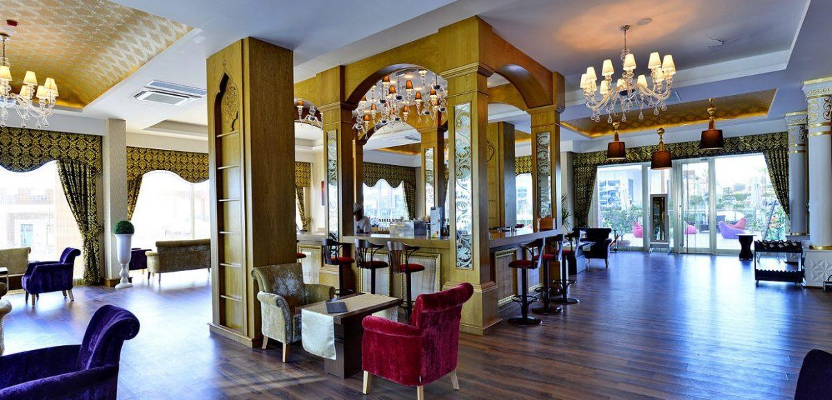 Квартира 2+1 с мебелью и техникой в комплексе с отельной концепцией в Махмутларе - Фото 14