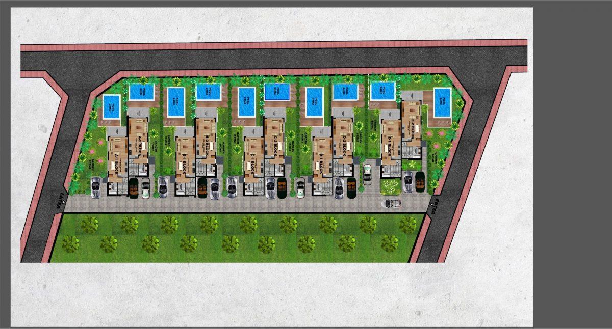 Новый комплекс вилл в Авсалларе - Фото 35
