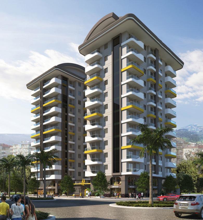 Квартиры в новом ЖК в центре Махмутлара - Фото 16
