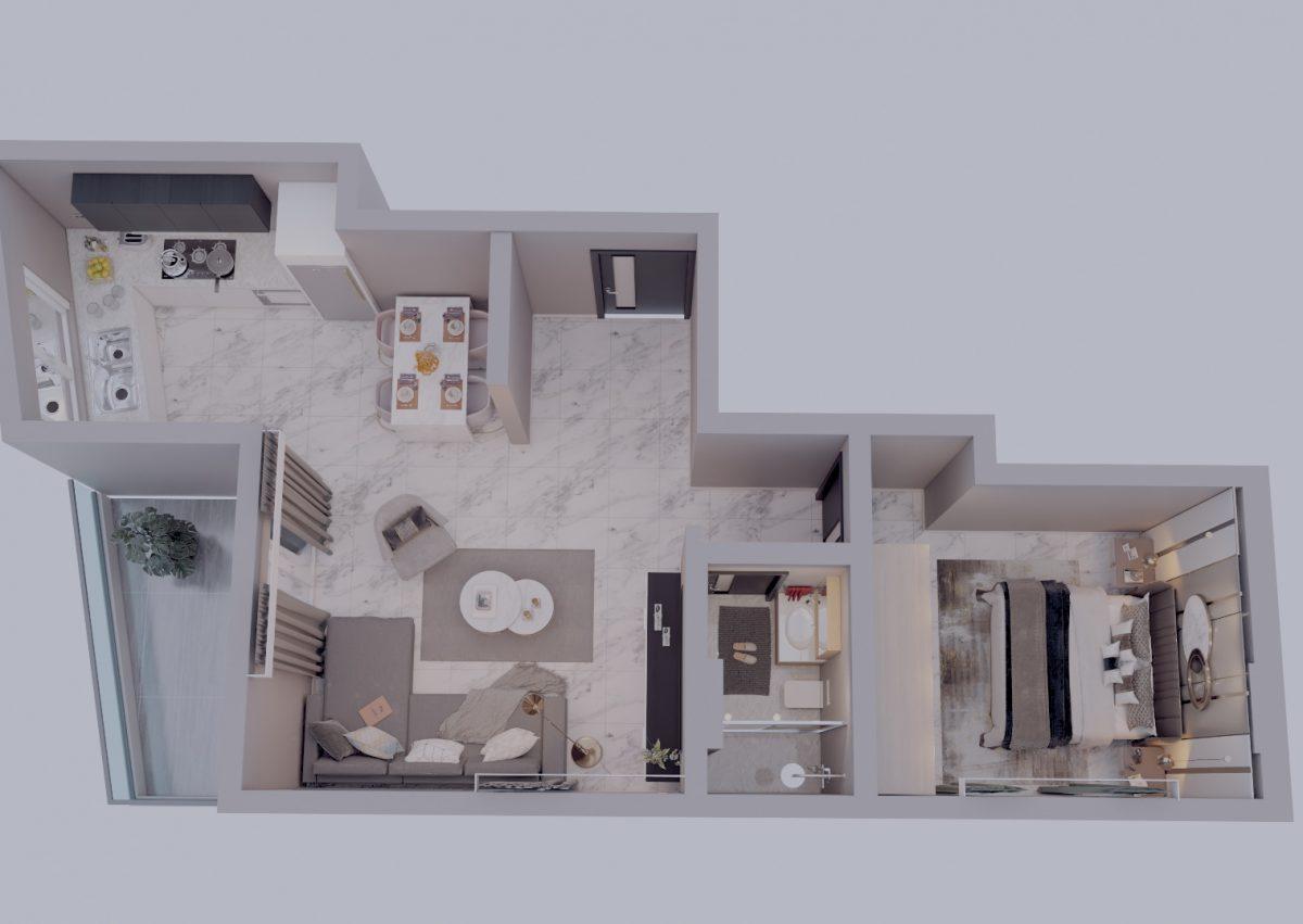 Апартаменты в новом комплексе в центре Махмутлара - Фото 20