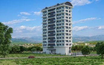 Резиденция с инвестиционными апартаментами  1+1,2+1,3+1 в Махмутлар