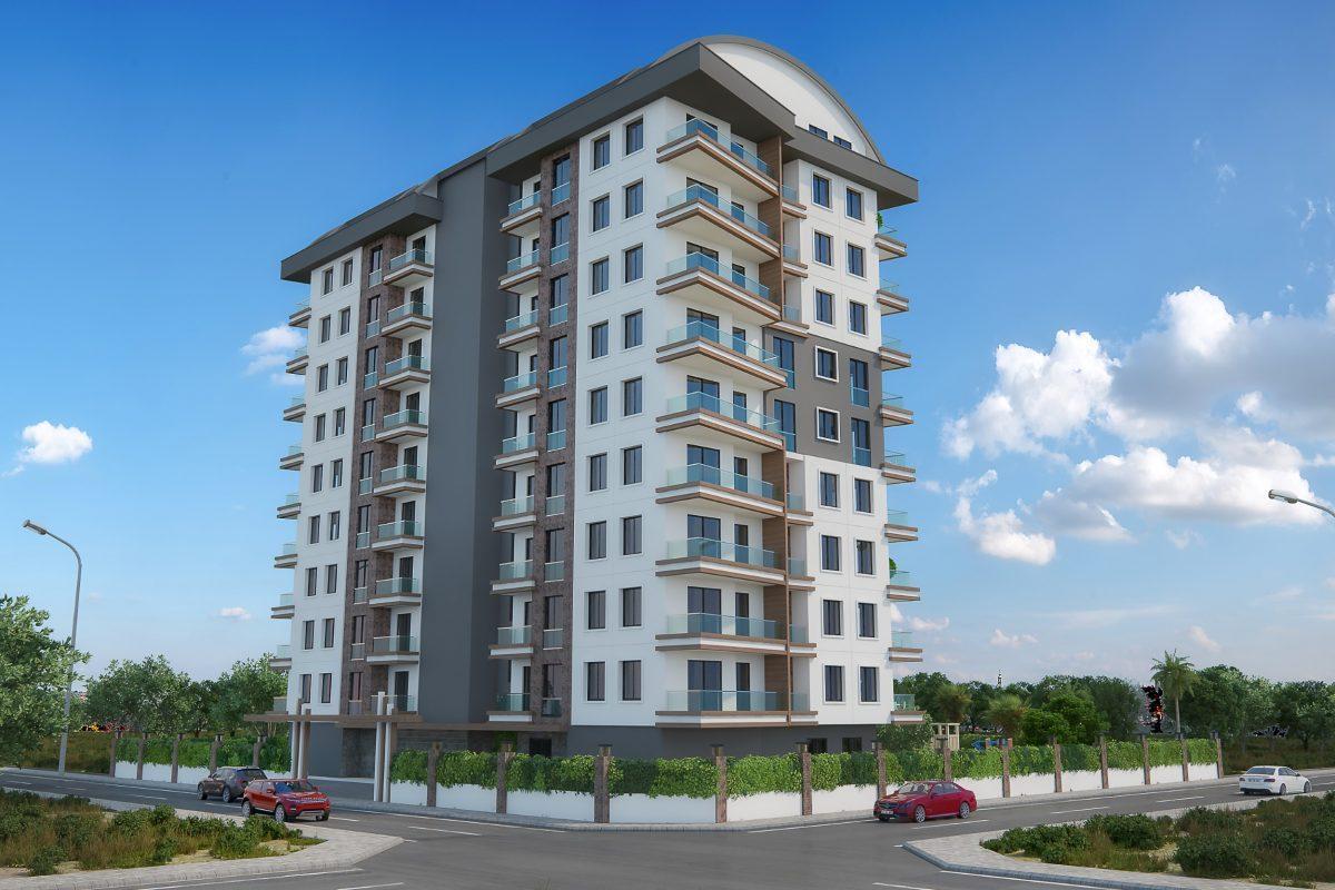 Новые квартиры в комплексе рядом с морем в Махмутларе - Фото 1