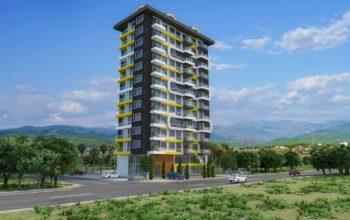 Новый комплекс в центре Махмутлара рядом с морем