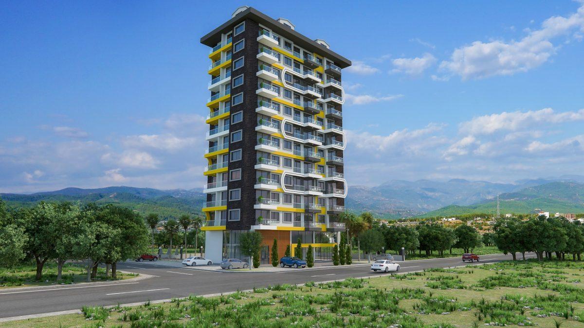 Новый комплекс в центре Махмутлара рядом с морем - Фото 1