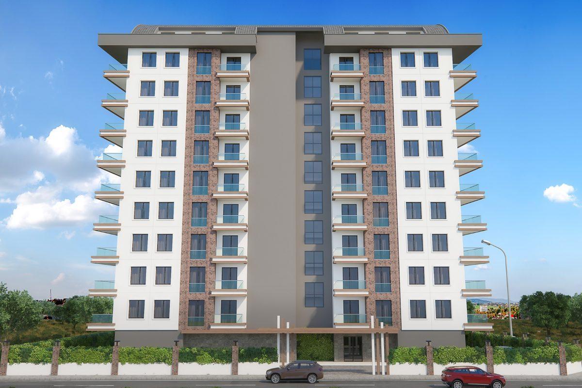 Новые квартиры в комплексе рядом с морем в Махмутларе - Фото 4