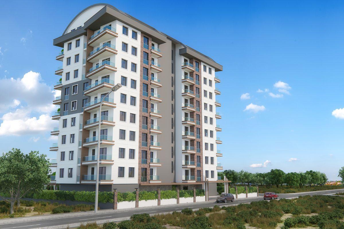 Новые квартиры в комплексе рядом с морем в Махмутларе - Фото 5