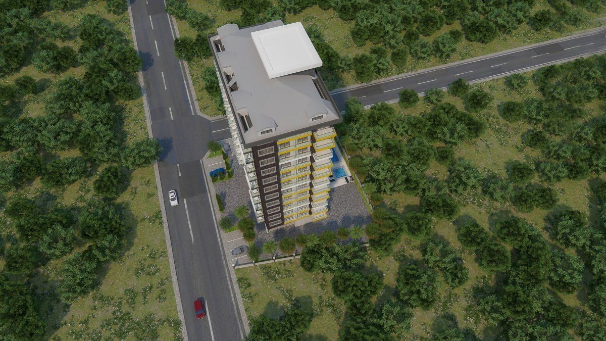 Новый комплекс в центре Махмутлара рядом с морем - Фото 5