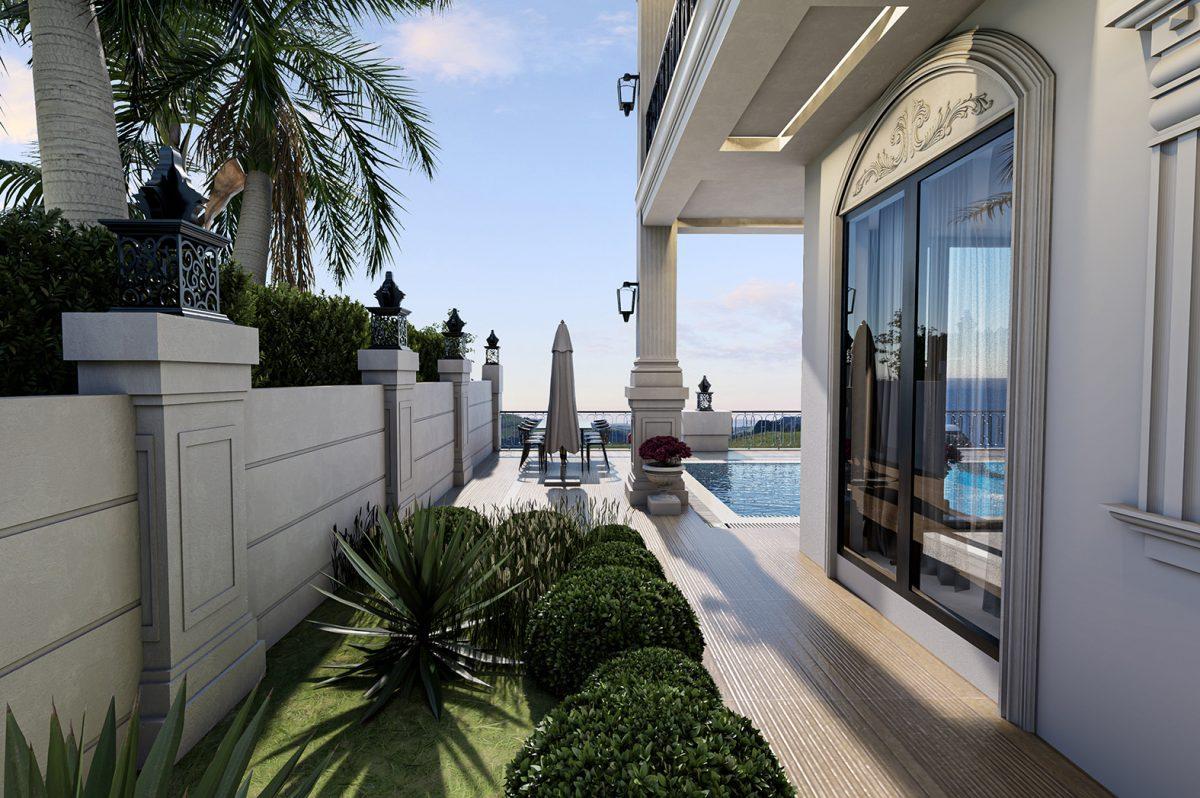 Трехэтажная вилла с собственной инфраструктурой и прямым видом на море - Фото 10
