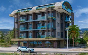 Новый уютный комплекс в Авсалларе