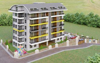 Инвестиционные апартаменты 1+1, 2+1 в Авсаллар