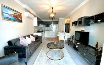 Апартаменты с мебелью в центральной части Махмутлара