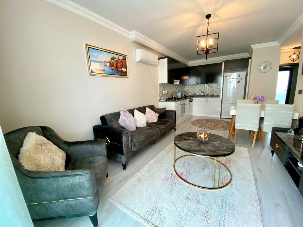 Апартаменты с мебелью в центральной части Махмутлара - Фото 8