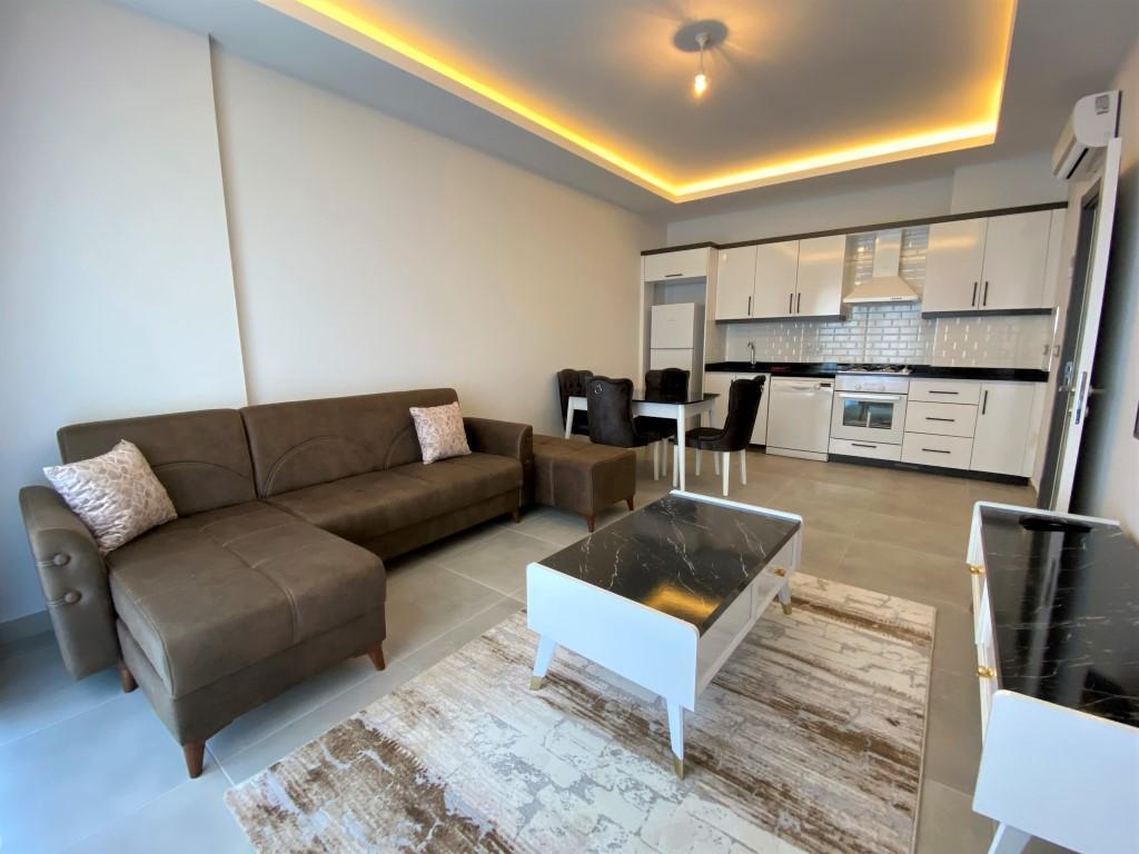 Меблированная квартира 1+1 в новом комплексе - Фото 16