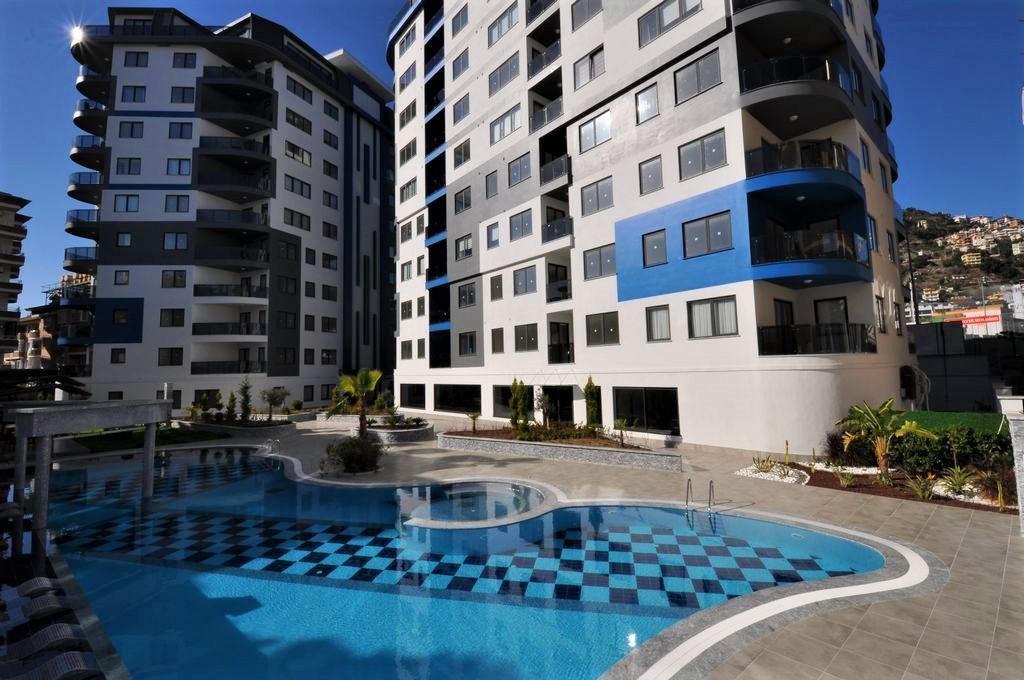 Квартира 2+1 в центре Алании в новом комплексе - Фото 1