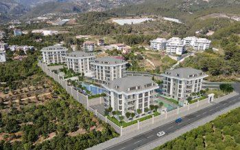 Инвестиционный комплекс с отельной инфраструктурой в европейском районе Оба