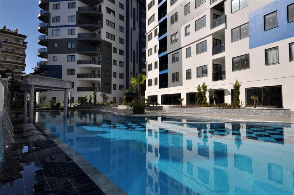Квартира 2+1 в центре Алании в новом комплексе - Фото 3