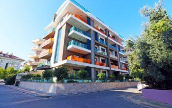 Апартаменты 3+1 в самом центре Алании