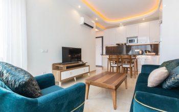 Апартаменты 1+1 с новой мебелью и техникой