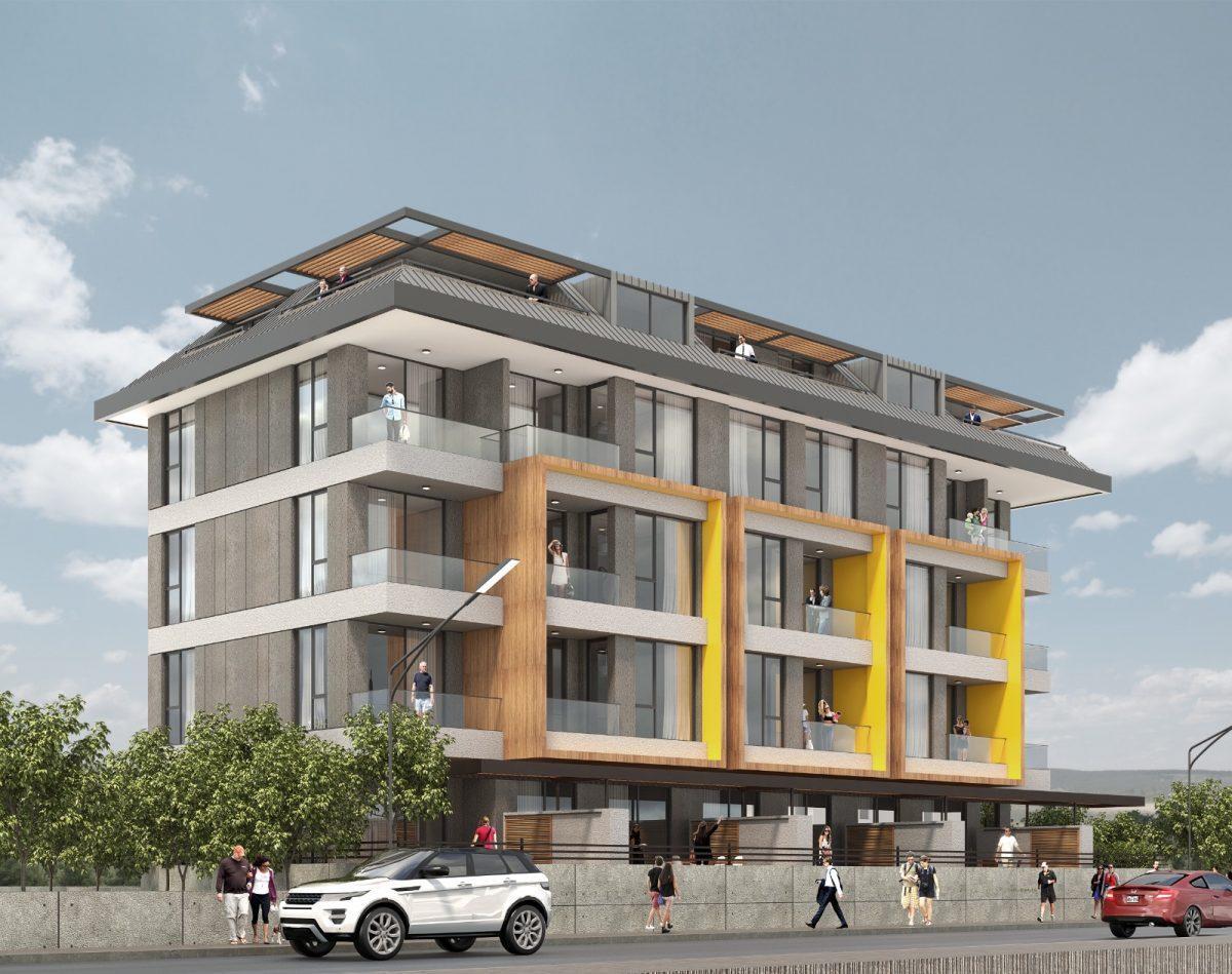 Квартиры в новом комплексе в центре Алании рядом с морем - Фото 1