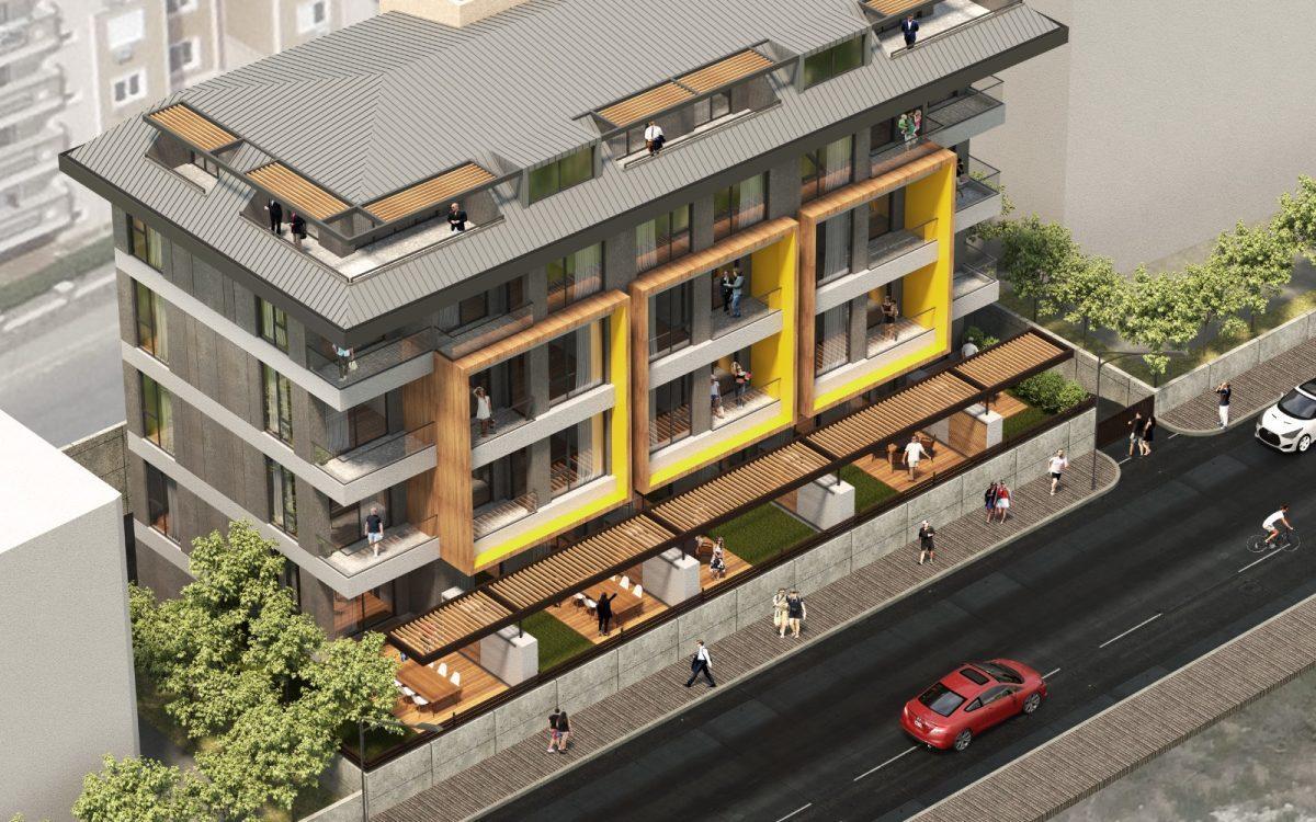 Квартиры в новом комплексе в центре Алании рядом с морем - Фото 2