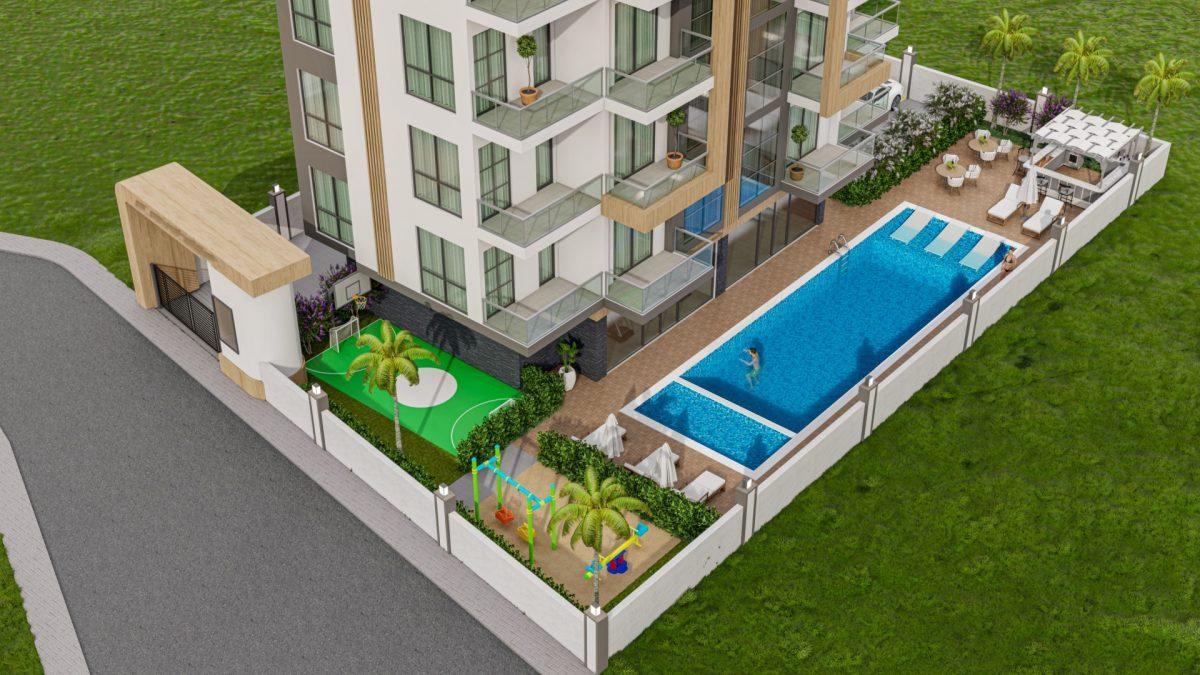 Новый инвестиционный проект в Авсалларе по доступной цене - Фото 7