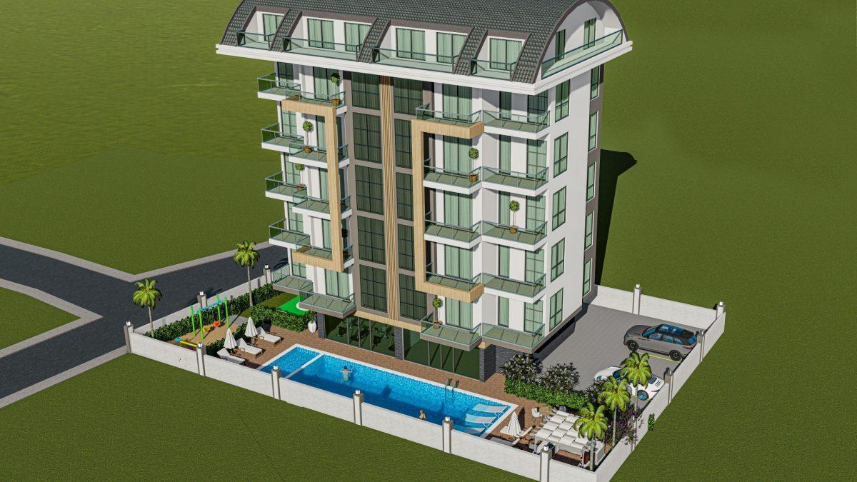 Новый инвестиционный проект в Авсалларе по доступной цене - Фото 8