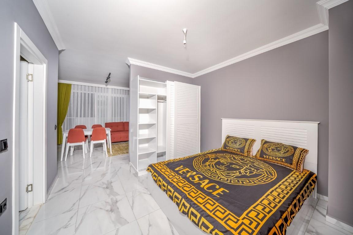 Квартира с мебелью в современном ЖК в Авсалларе - Фото 27