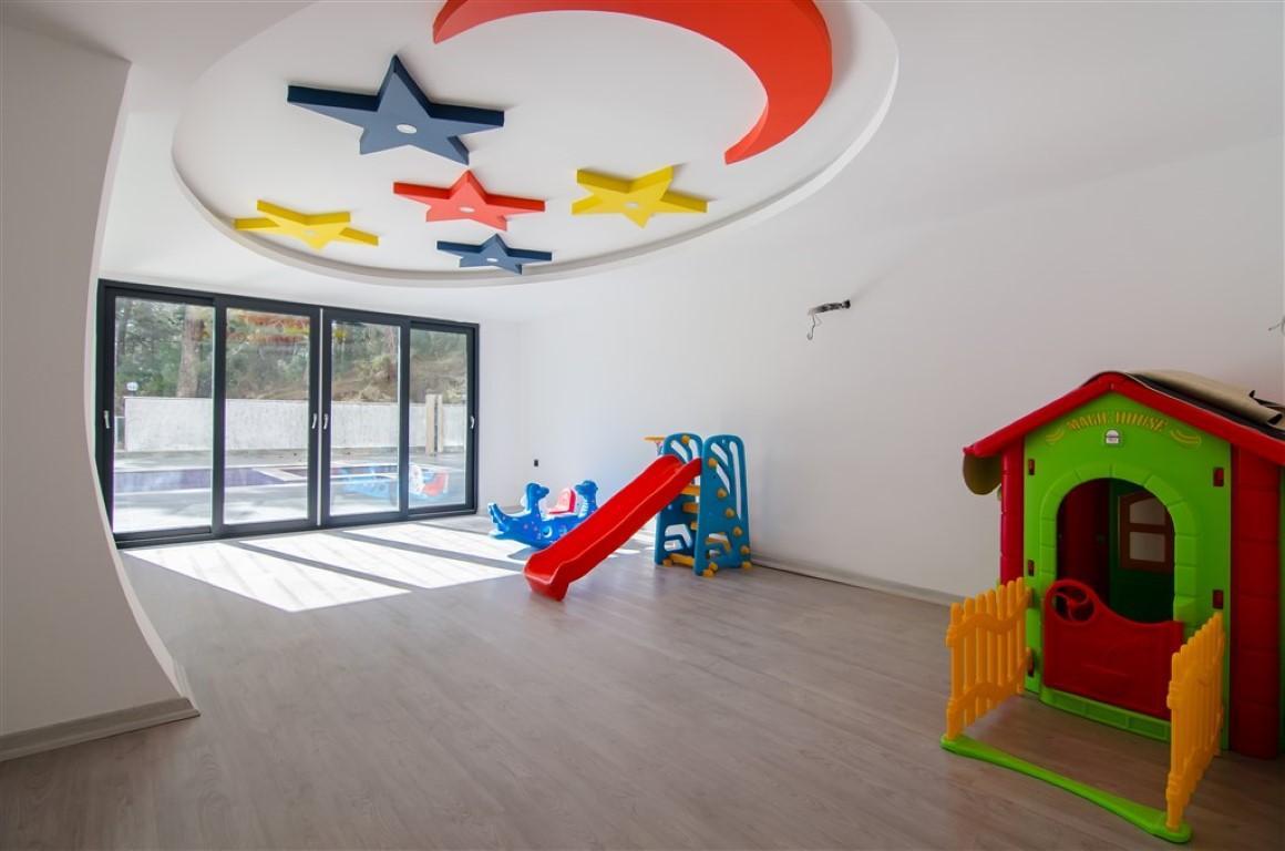 Квартира с мебелью в современном ЖК в Авсалларе - Фото 16