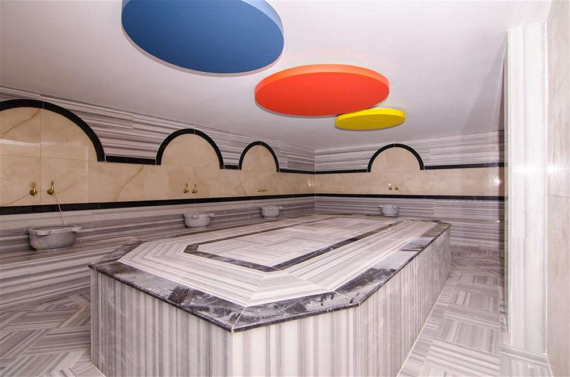 Квартира с мебелью в современном ЖК в Авсалларе - Фото 19