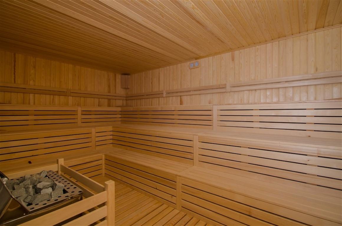 Квартира с мебелью в современном ЖК в Авсалларе - Фото 20