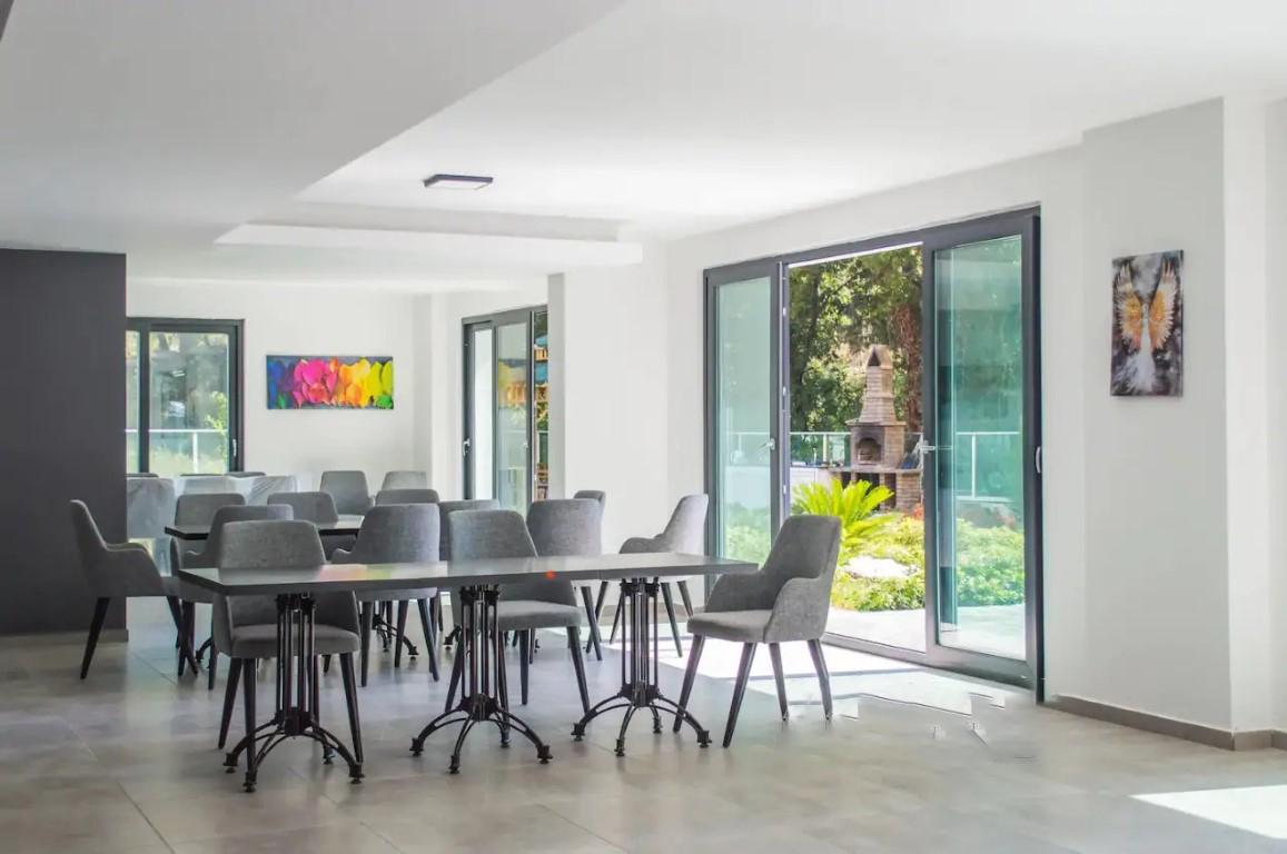 Квартира с мебелью в современном ЖК в Авсалларе - Фото 14