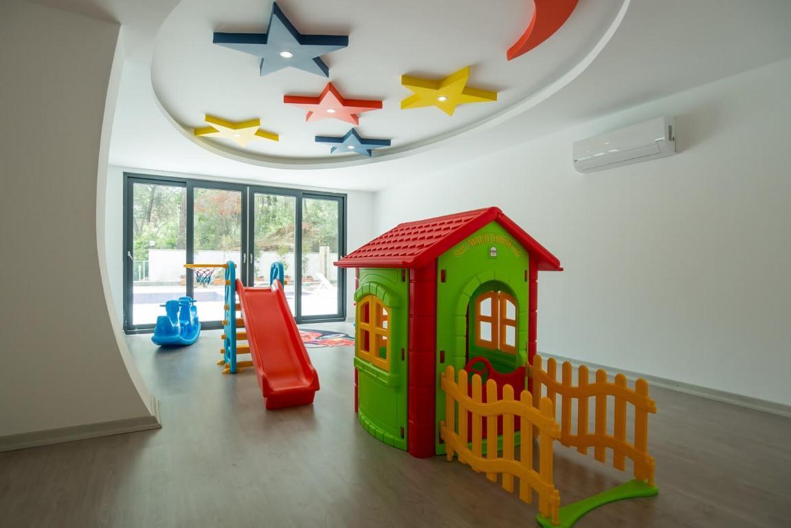 Квартира с мебелью в современном ЖК в Авсалларе - Фото 24