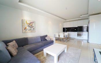 Меблированные апартаменты 1+1 в районе Джикджилли