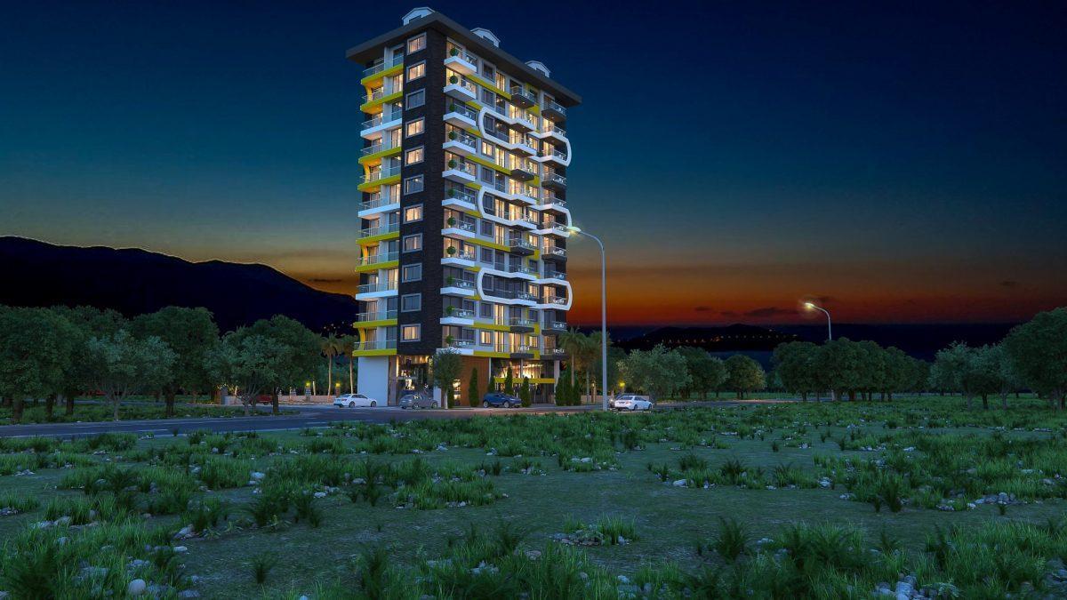 Новый комплекс в центре Махмутлара рядом с морем - Фото 6