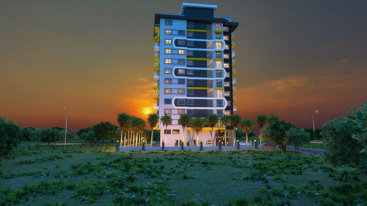 Новый комплекс в центре Махмутлара рядом с морем - Фото 7