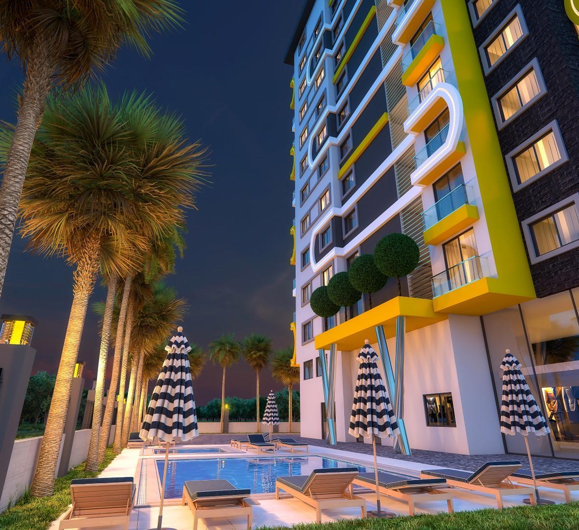 Новый комплекс в центре Махмутлара рядом с морем - Фото 8