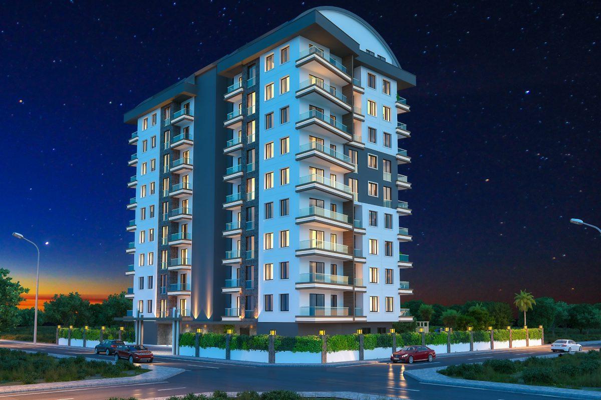 Новые квартиры в комплексе рядом с морем в Махмутларе - Фото 14