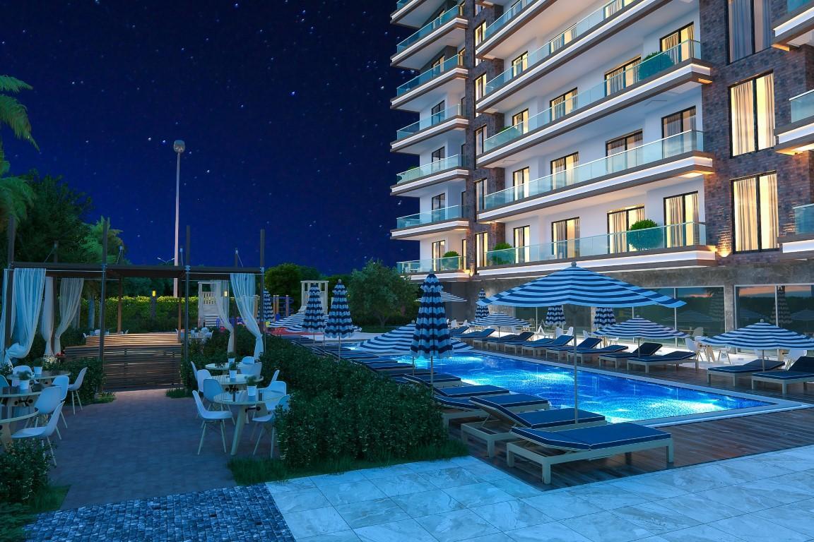 Новые квартиры в комплексе рядом с морем в Махмутларе - Фото 11