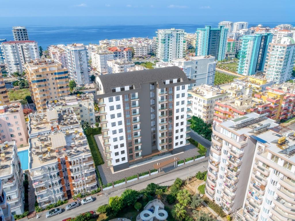 Новые квартиры в комплексе рядом с морем в Махмутларе - Фото 7