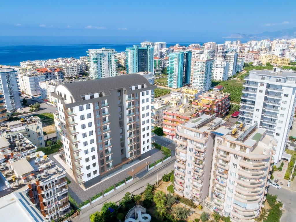 Новые квартиры в комплексе рядом с морем в Махмутларе - Фото 8