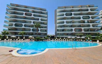 Квартира 2+1 в комплексе с отельной инфраструктурой в Авсалларе