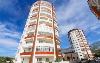 Новые просторные апартаменты 2+1 в тихой части Махмутлар