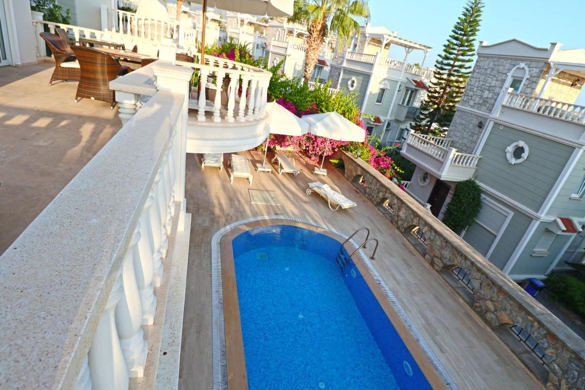 Вилла с частным бассейном в Конаклы - Фото 19