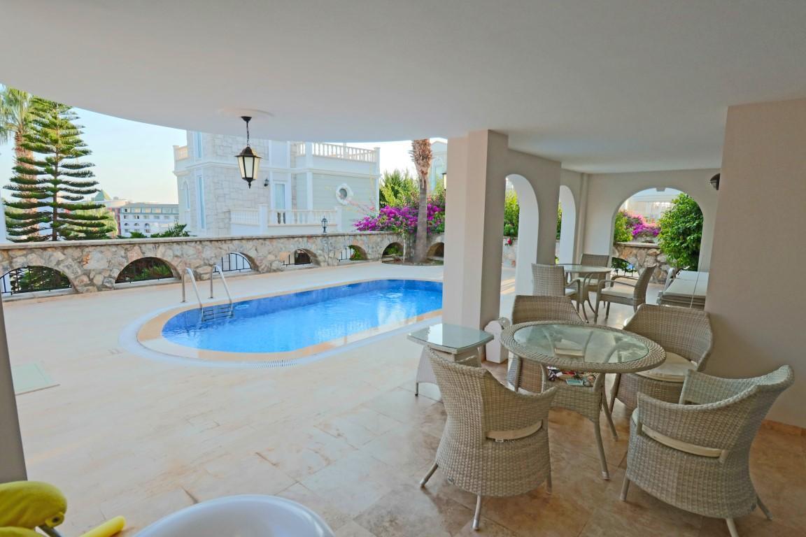 Вилла с частным бассейном в Конаклы - Фото 42