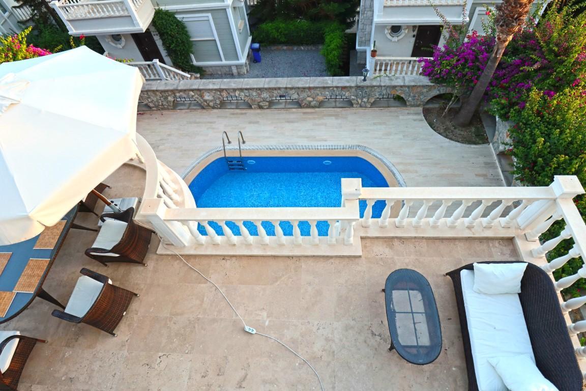 Вилла с частным бассейном в Конаклы - Фото 53