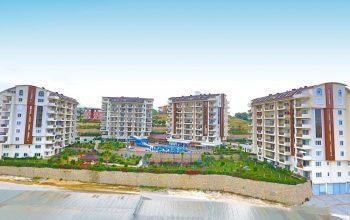 Просторные квартиры 2+1 в комплексе с отельной инфраструктурой в Авсалларе