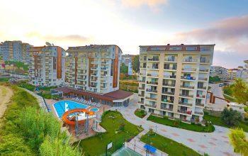 Квартиры в комплексе с отельной инфраструктурой в Авсалларе