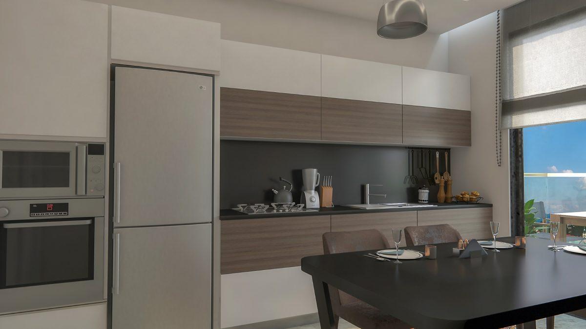 Новые квартиры в комплексе рядом с морем в Махмутларе - Фото 21