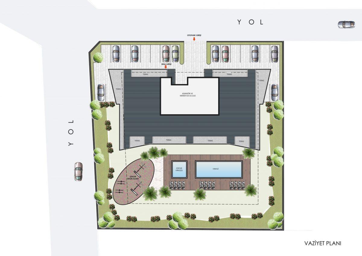 Новые квартиры в комплексе рядом с морем в Махмутларе - Фото 30
